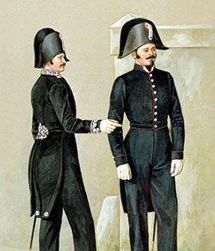 В 19 веке в Париже впервые появились полицейские в форме