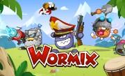 'Вормикс' - Десятки видов оружия, множество уникальных карт, увлекательные сражения за ресурсы и рейтинг! Зовите друзей и присоединяйтесь к бойне!
