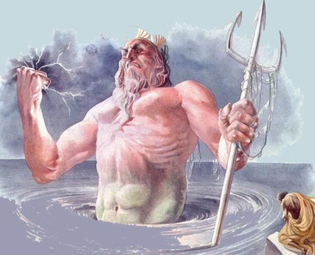 Нептун был грозным божеством, его надо было как следует задобрить